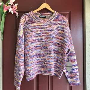 BRAND NEW Sweet & Sinful Multicolored Sweater